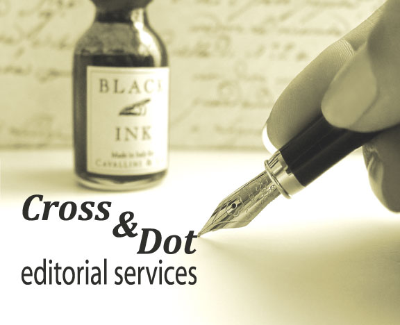 Cross & Dot editorial services